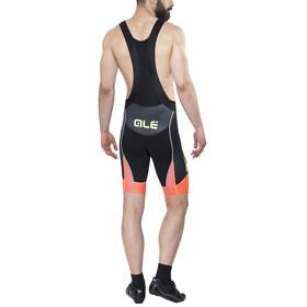 Alé Cycling R-EV1 Master Bibshorts Men black-fluo org-fluo yellow